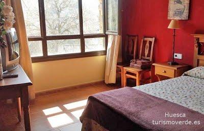 TURISMO VERDE HUESCA. Casa Tejedor en Las Almunias de Rodellar