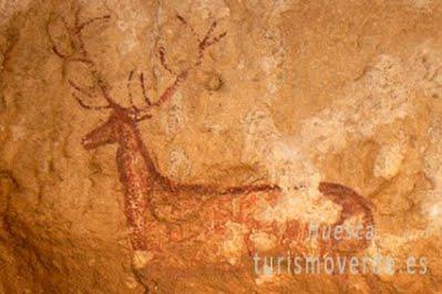 TURISMO VERDE HUESCA. Pinturas rupestres parque cultural del Río Vero